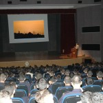 Serif Yenen as a Lecturer at the Kuleli Military High School