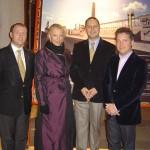 Serif Yenen with Princess Michael of Kent and Atil Kutoglu