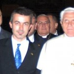 Serif Yenen with Pope BENEDICT the 16th.