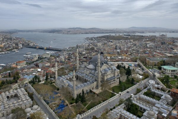 Süleymaniye Mosque and the Golden Horn